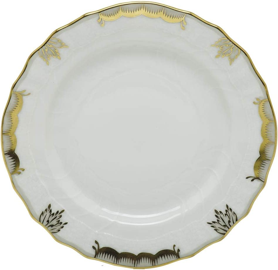 Herend Princess Victoria Gray Porcelain and Butter Bread Plate Ranking TOP19 Attention brand