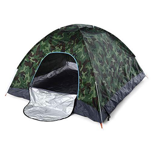 Chnrong Campingzelt, 2 Personen Leichtes Schnell-Automatik-Zelt Wasserdicht Instant Pop Up Faltzelt für Familien Picknick, Strand, Garten, Angeln