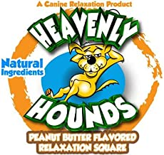 Heavenly Hounds Peanut Butter Flavored Relaxation Square - 3 Pack Sampler