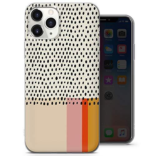 Cover morbida in gel per iPhone X, iPhone XS, motivo a pois dalmati A19