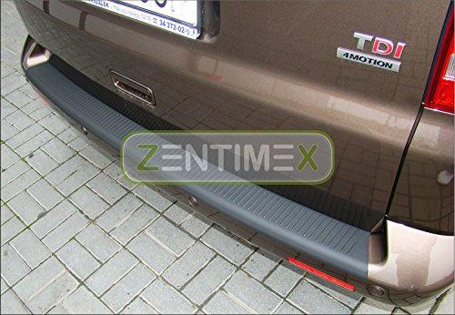 ZentimeX Interiormate Z746483 Ladekantenschutz fahrzeugspezifisch Kunststoff schwarz 3D-Oberfläche