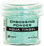 Ranger Aqua Tinsel Embossing Powder