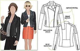 Style Arc Ziggi - Patrón de costura para chaqueta