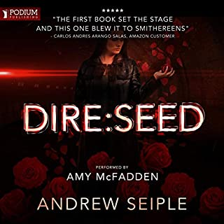 Dire: Seed     The Dire Saga, Book 2              Written by:                                                                                                                                 Andrew Seiple                               Narrated by:                                                                                                                                 Amy McFadden                      Length: 12 hrs and 29 mins     Not rated yet     Overall 0.0