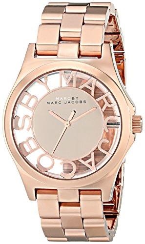 Marc Jacobs dameshorloge analoog kwarts roestvrij staal MBM3207