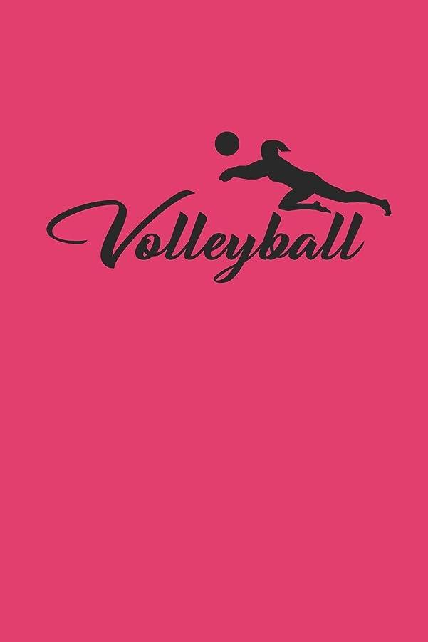 吸収するアカウント皿VOLLEYBALL: Notizbuch fuer Volleyball Spieler Notebook Journal 6x9 lined