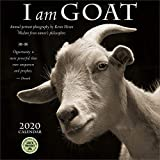 I Am Goat 2020 Wall Calendar: Animal Portrait Photography and Wisdom From Nature s Philosophers