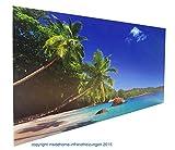 """Infrarotheizung Premium rahmenlos mit Bild, 300 Watt, 60x60, Motiv """"Holzfenster"""""""