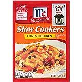 McCormick Slow Cookers Fiesta Chicken Seasoning Mix, 1.5 oz ( pack of 12 )
