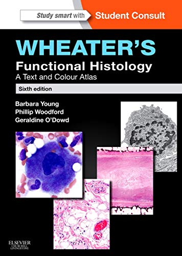 Compare Textbook Prices for Wheater's Functional Histology: A Text and Colour Atlas FUNCTIONAL HISTOLOGY WHEATER'S 6 Edition ISBN 9780702047473 by Young BSc  Med Sci (Hons)  PhD  MB  BChir  MRCP  FRCPA, Barbara,O'Dowd BSc (Hons)  MBChB (Hons)  FRCPath, Geraldine,Woodford MB BS  FRCPA, Phillip