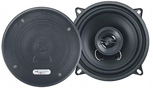 Excalibur Lautsprecher X132 13cm 600 Watt inkl Einbauset für Dacia Sandero 2008-2011 Türen vorne und hinten