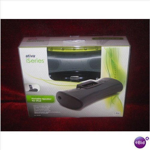 Check Out This Ativa iSeries 2.0 Portable Speaker System for iPod NEW