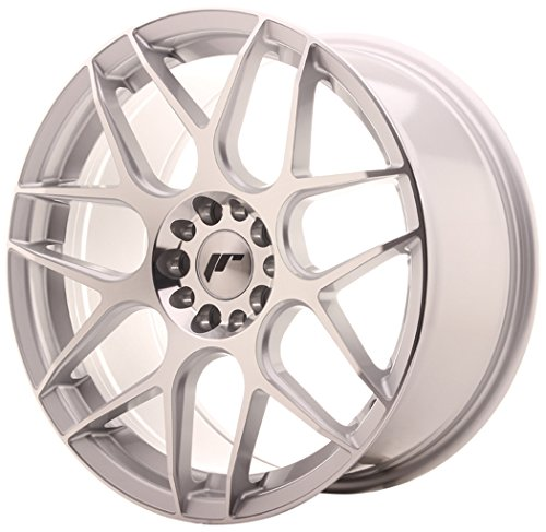 Japan Racing JR18 Silver Machined - 18x8.5 ET40 5x112/5x114.3 Llantas de aleación (Competición)