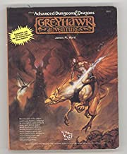 Advanced Dungeons & Dragons Greyhawk Adventures (Miniature AD & D Collectors edition.