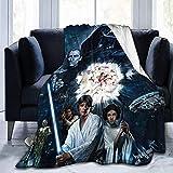 Searster$ Fleece Blanket Manta de Star Wars Manta súper Suave cálida para...
