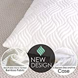 Royal Therapy King Memory Foam Pillow, Neck Pillow Bamboo Adjustable...