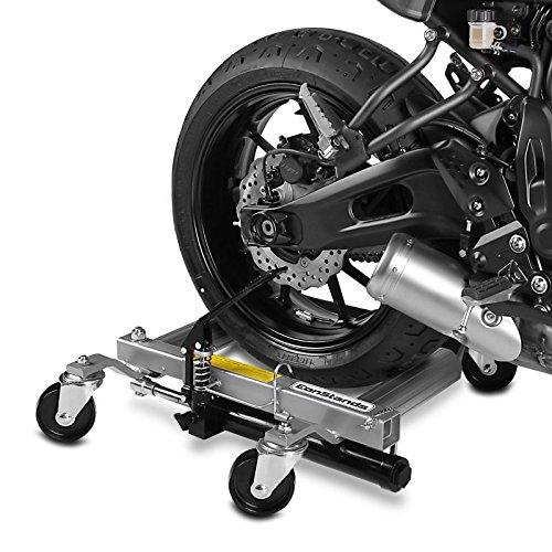 ConStands Motomover Heavy Duty - Motorrad Rangierhilfe Kawasaki VN 900 Classic Rangierwagen Montageständer Hinterradheber