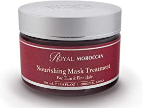 Royal Moroccan Formula - Nourishing Mask Treatment (500 ml) For Thin And Fine Hair- Base of Moroccan Argan oil, For color – Treated Hair