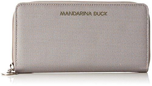 Mandarina DuckMD20 PORTAFOGLIO GREY - Portafogli Donna , Grigio (Grau (GREY 007)), 20x3x10 cm (B x H x T)