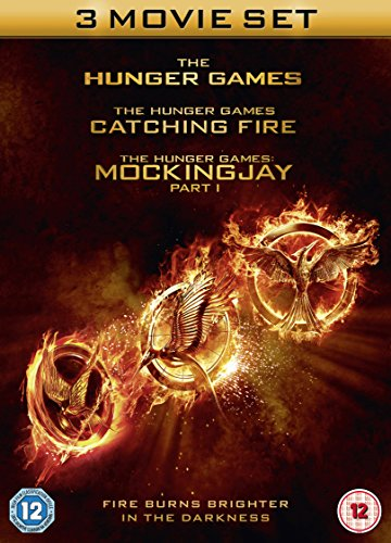 The Hunger Games / Catching Fire / Mockingjay, Part I [3 DVDs] [UK Import