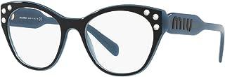 Miu Miu 02RV Women Eyeglasses Prescription RX Frame w/Crystals Core Collection