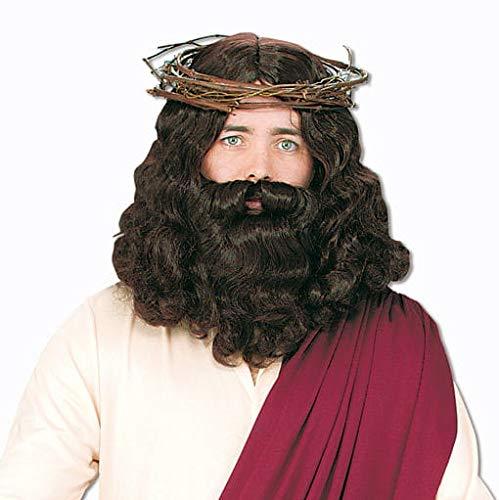 Jezus Pruik Met Baard