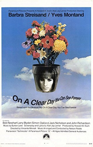 On A Clear Day You Can See Forever 11 x 17 Movie Poster - Style A by postersdepeliculas
