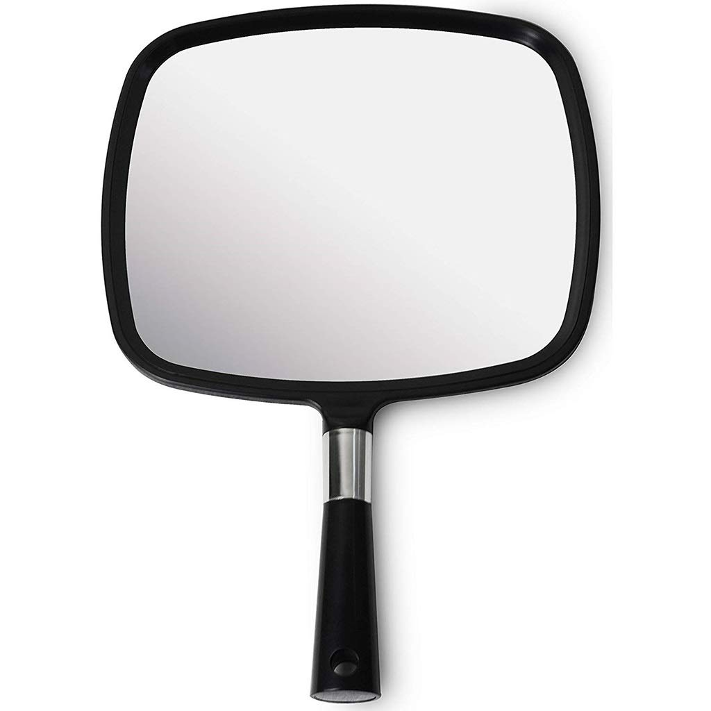 Challenge the lowest price of Japan Manufacturer direct delivery Beauty Makeup Mirror Barber Comfortable Hand and Large