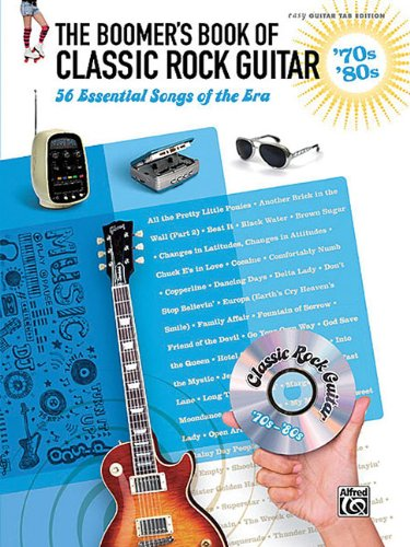 Price comparison product image The Boomer's Book of Classic Rock Guitar - '70s - '80s: 56 Essential Songs of the Era