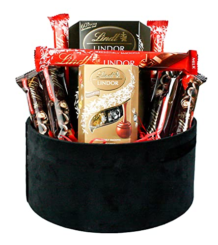 Chocolate Hamper Gift Selection Gift Box Present for All Occasions Birthdays Party Halloween Christmas Favours - Favourite Lindt Treats Set 2