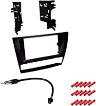 CACHÉ KIT2716 Bundle with Complete Car Stereo Installation Kit Compatible with 2006-2011 BMW 3 Series W/Out OEM Nav - in Dash Mounting Kit, Antenna for Double Din Radio Receivers (3 Item)