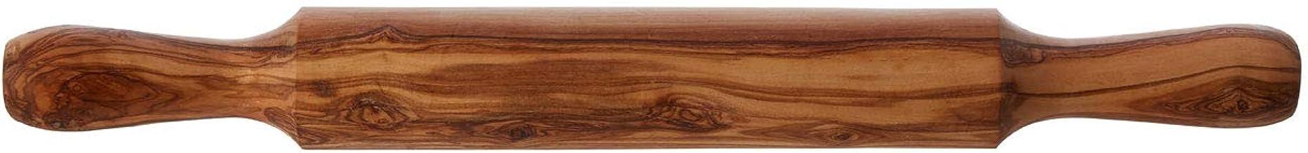 Premier Housewares 1104750 Rolling Pin, Olive Wood