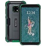 Rugged Phone, Blackview BV4900 Pro Rugged Smartphone Android 10 Unlocked, 5.7inch HD+, 4GB+64GB (256GB Extension), 5580mAh Battery, IP68 Waterproof 4G Smartphones, 13MP+5MP, Dual SIM, NFC, OTG - Green