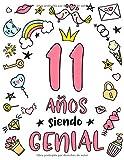 11 Años Siendo Genial: Regalo de Cumpleaños 11 Años Para...