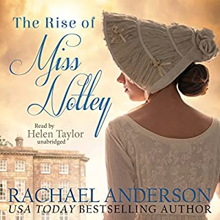 The Rise of Miss Notley audiobook cover art