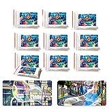 Bubble Brothers Riesenseifenblasen 10 x 5 Liter Seifenblasenlösung Zauberpulver, Seifenblasen, Magisches Pulver für Seifenwasser Party's, Geburtstag, Hochzeit , Geschenk, Giant Soap Bubbles, 50 Liter