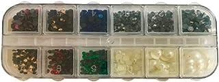 Kit Com 1405 Pedras De Strass Hotfix Termocolante De Vidro
