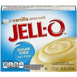 JELL-O Vanilla Instant Pudding & Pie Filling Mix (1.5 oz Box)
