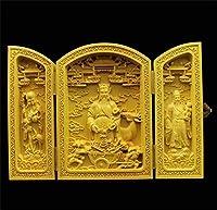 仏像彫刻純木の彫刻仏像像の家の装飾アクセサリー木仏工芸品