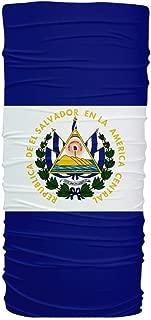 ScudoPro El Salvador Flag Multifunctional UV Protection Headband