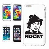 Reifen-Markt Hard Cover - Funda para teléfono móvil Compatible con Apple iPhone 7 Rocky Balboa...