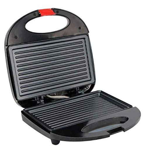 SHUILV Curved Stripe Omelette Pan Waffle Sandwich Maker, Parrilla, Recubrimiento Antiadherente CURANTE Cool Touch PIES Anti-Skid Piete PAKER MÁQUINA Cocina Cocina