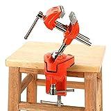 Mini tornillo de banco giratorio de aluminio, profesional, mesa de banco de madera, herramienta de reparación artesanal para casa y fábrica