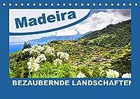 MADEIRA Bezaubernde Landschaften (Tischkalender 2022 DIN A5 quer): Unbegrenzte Ausblicke ueber die Weiten der Insel (Monatskalender, 14 Seiten )
