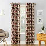No. 918 Celestial Geometric Print Grommet Curtain...