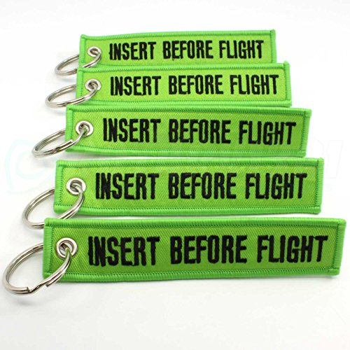 Mejor Insert Before Flight Keychain - Red Rotary13B1 crítica 2020