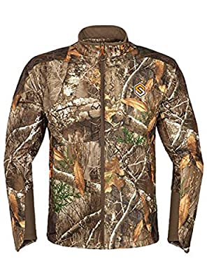 ScentLok Men's Full Season TAKTIX Hunting Jacket, Realtree Edge, L
