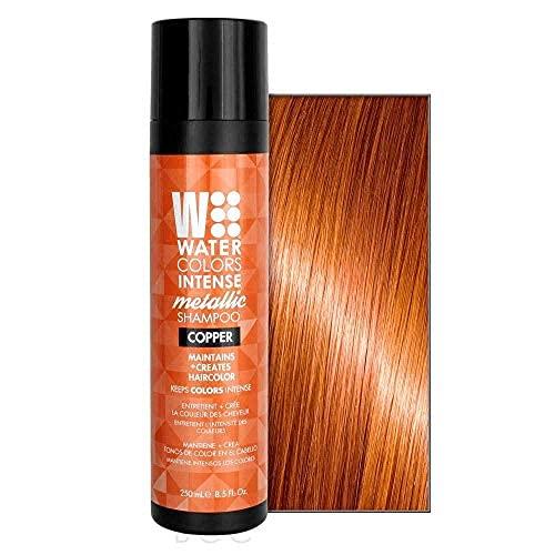 Watercolors Intense Metallic Shampoo Copper 8.5 Ounce