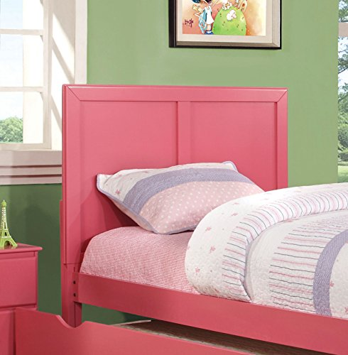 Furniture of America Kolora Youth Headboard, Pink, Twin