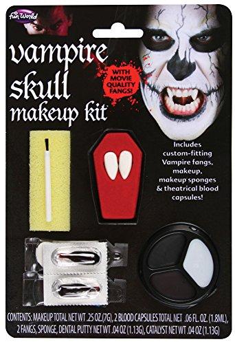 Vampire Skull - Kit Maquillage Vampire + Dentier